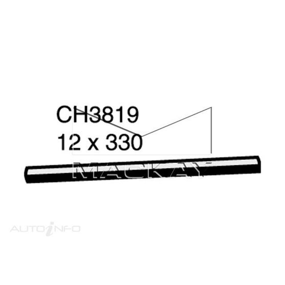 Heater Hose  - TRIUMPH TR4 . - 2.1L I4  PETROL - Manual & Auto, , scaau_hi-res