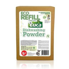 EUCA DISHWASHING POWDER 8KG REFILL, , scaau_hi-res