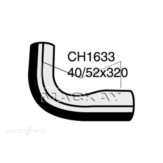 Bottom Hose MITSUBISHI Canter F FM 515 FR - JR - MR - FS - JS - MS - Turbo  Pipe to Water Pump*, , scaau_hi-res