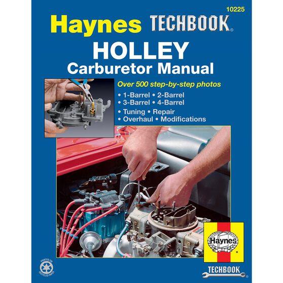 HOLLEY CARBURETOR HAYNES TECHBOOK, , scaau_hi-res
