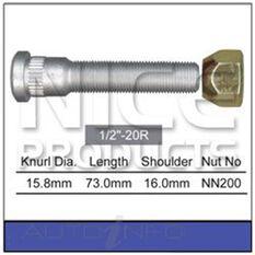 Long Stud & Nut, , scaau_hi-res