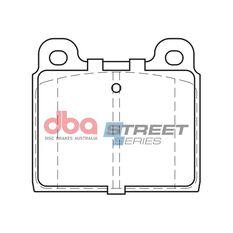 DBA SS STREET SERIES BRAKE PADS [ Volkswagon Transporter 1967 - 1992 F ], , scaau_hi-res