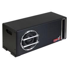 """6"""" PASSIVE BASS REFLEX ENCLOSURE """"LONG"""", 220MM X 350MM X 220MM, 150 WATTS, , scaau_hi-res"""