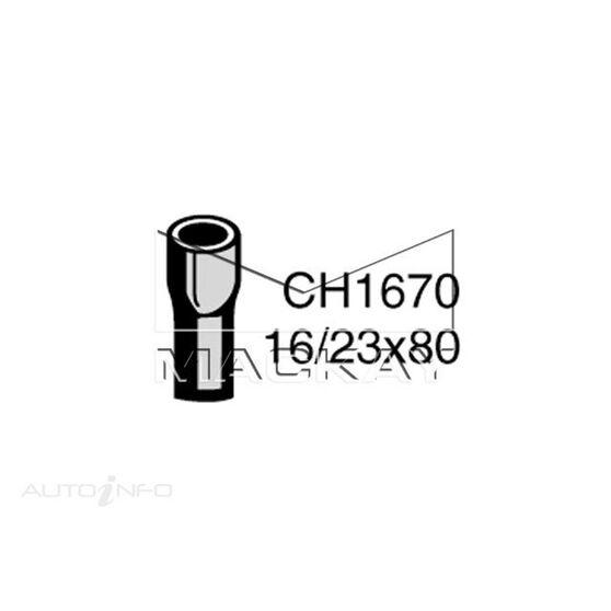 Heater Hose  - FORD FALCON XE - 4.1L I6  PETROL - Manual & Auto, , scaau_hi-res