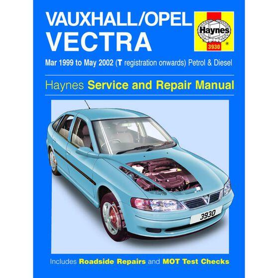 VAUXHALL/OPEL VECTRA PETROL & DIESEL (1999 - 2002), , scaau_hi-res