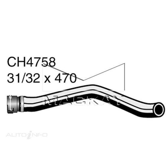 Radiator Upper Hose  - FORD FIESTA WP, WQ - 1.6L I4  PETROL - Manual & Auto, , scaau_hi-res