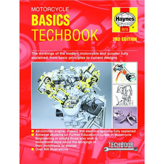 MOTORCYCLE BASICS TECHBOOK (2ND EDITION), , scaau_hi-res