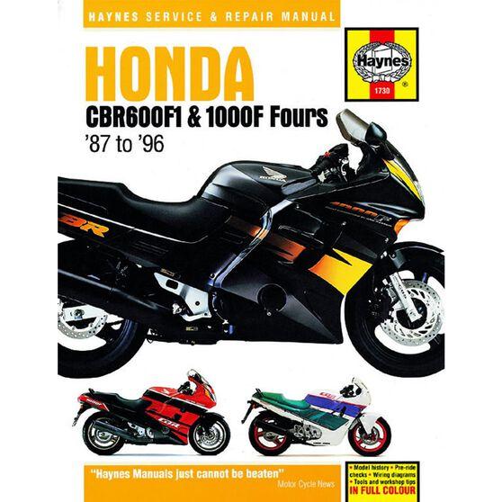 HONDA CBR600F1 AND 1000F FOURS 1987 - 1996, , scaau_hi-res