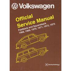 SERVMAN  VW FASTBACK&SQUARE BACK 1968-1973    9780837617008