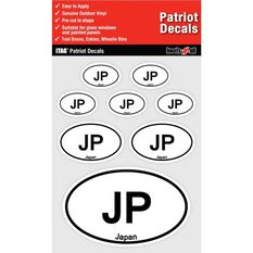 ITAG PATRIOT DECALS SHEET - JAPAN
