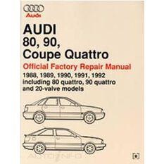 REPMAN  AUDI 80  90 & COUPE QUATTRO 20-VALVE MODS 1988-1992 9780837603681, , scaau_hi-res