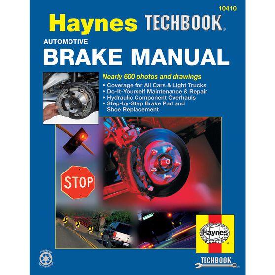 AUTOMOTIVE BRAKE HAYNES TECHBOOK, , scaau_hi-res