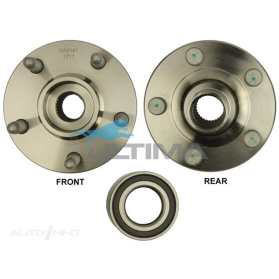 HUB ASSY (R) COMMODORE VE W/ABS 06/06 ON LHS/RHS, , scaau_hi-res