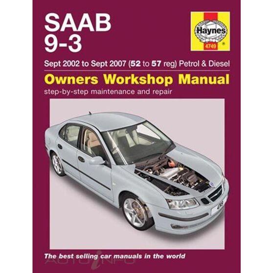 SAAB 9-3 PETROL & DIESEL (2002 - 2007), , scaau_hi-res