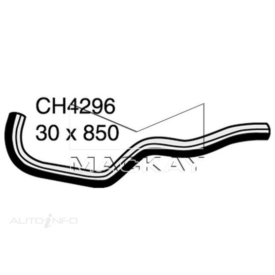 Radiator Lower Hose  - HONDA S2000 AP - 2.0L I4  PETROL - Manual & Auto, , scaau_hi-res