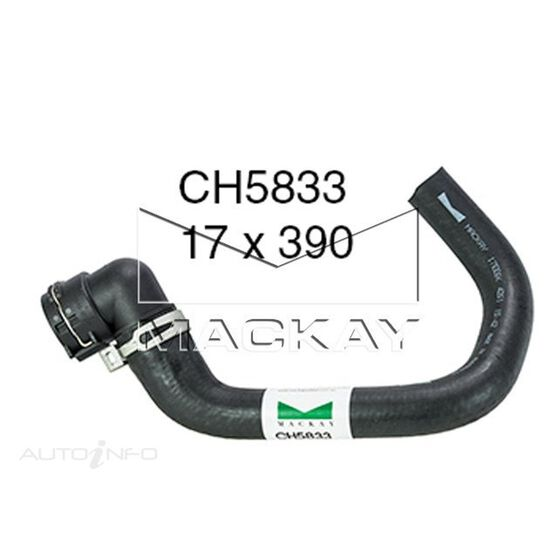 Coolant Recovery Tank Hose  - FORD TERRITORY SZ - 2.7L V6 Turbo DIESEL - Manual & Auto, , scaau_hi-res