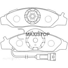 MAXISTOP DBP (F) MUSSO 4WD 96 ON