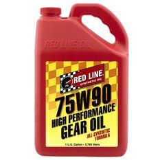 REDLINE GEAR OIL 75W-90 GL5  GALLON RL136-4, , scaau_hi-res