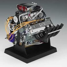 FORD T/F DRAGSTER 1.6 SCALE DIECAST ENGINE REPLICAS, , scaau_hi-res