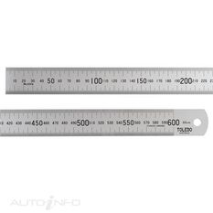 TOLEDO S/STEEL RULE 600MM, , scaau_hi-res