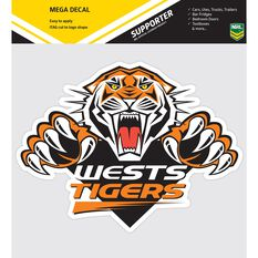 WESTS TIGERS ITAG MEGA DECAL