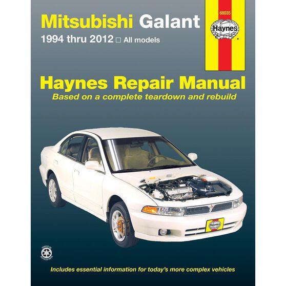 MITSUBISHI GALANT HAYNES REPAIR MANUAL FOR 1994 THRU 2012 COVERING ALL MODELS, , scaau_hi-res
