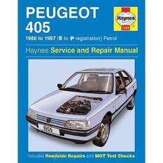 PEUGEOT 405 PETROL (1988 - 1997), , scaau_hi-res