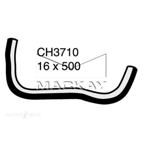Heater Hose HONDA CIVIC    1.6 Litre 4 Cyl  Inlet #1 ( Left Hand Drive Application)*, , scaau_hi-res