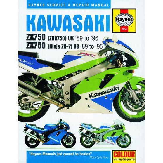 KAWASAKI ZX750 (NINJA ZX-7 & ZXR750) FOURS 1989 - 1996, , scaau_hi-res