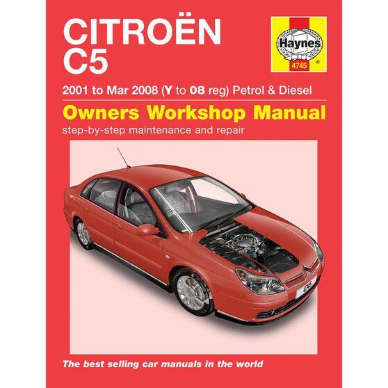 CITROEN C5 PETROL & DIESEL (2001 - 2008), , scaau_hi-res