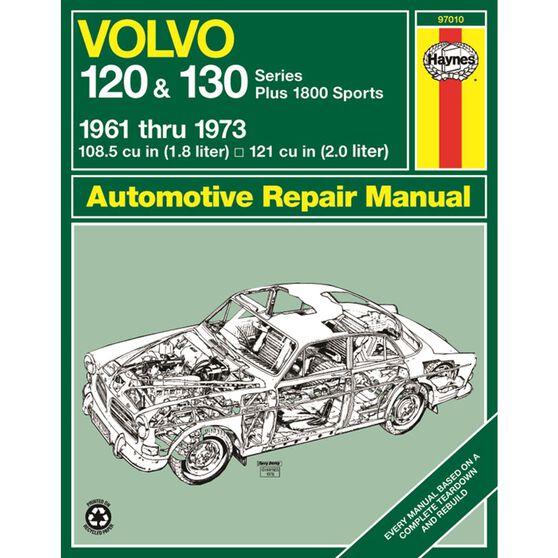 VOLVO 120 & 130 SERIES, AND P1800 SPORTS HAYNES REPAIR MANUAL FOR 1961 THRU 1973, , scaau_hi-res
