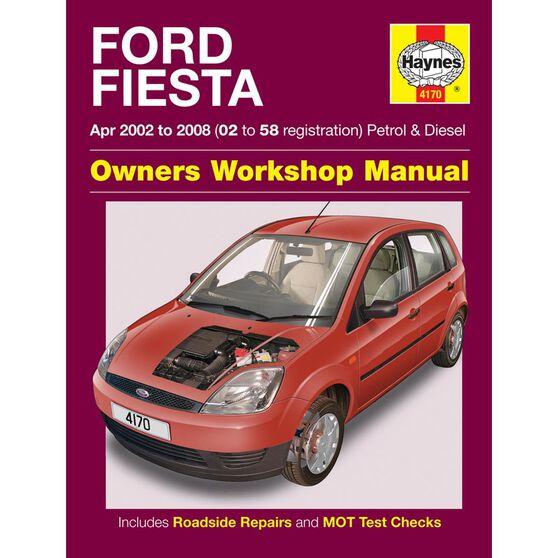 FORD FIESTA PETROL & DIESEL (2002 - 2008), , scaau_hi-res