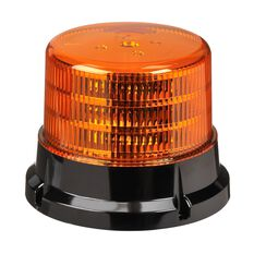 LED BEACON 10-30V AMBER - 134MM H X 167MM BASE