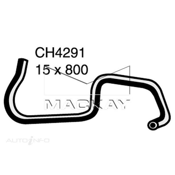 Heater Hose VOLVO 960  B280 V6 return pipe to Heater core*, , scaau_hi-res