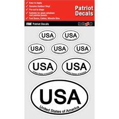 ITAG PATRIOT DECALS SHEET - UNITED STATES OF AMERICA, , scaau_hi-res