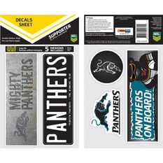 PANTHERS ITAG BUMPER DECALS - SET OF 5