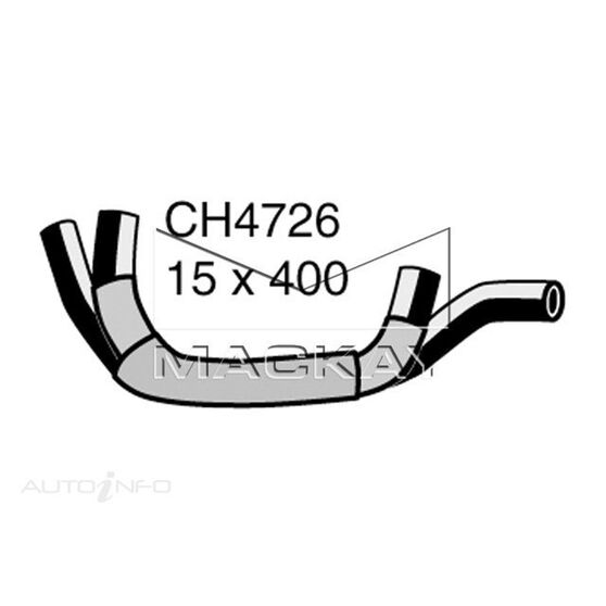 Engine By Pass Hose  - VOLKSWAGEN BEETLE 9C - 1.6L I4  PETROL - Manual & Auto, , scaau_hi-res