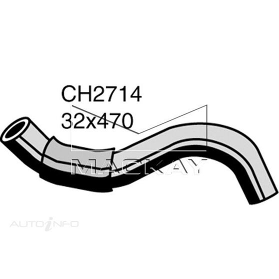 Radiator Lower Hose  - SSANGYONG MUSSO . - 2.9L I5 Turbo DIESEL - Manual & Auto, , scaau_hi-res