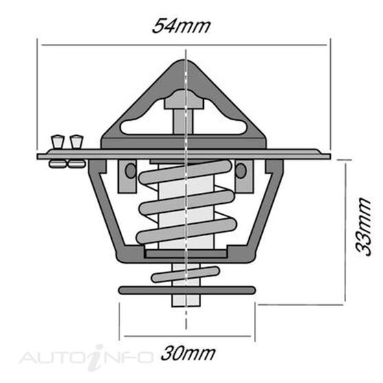 TRIDON THERMOSTAT BOXED (HIGH FLOW), , scaau_hi-res
