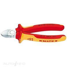 KNIPEX 1000V DIAGONAL CUTTER 160MM, , scaau_hi-res
