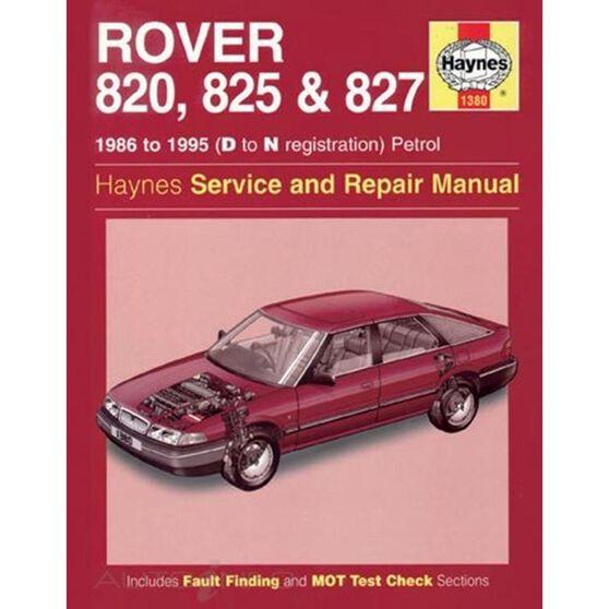 ROVER 820, 825 & 827 PETROL (1986 - 1995), , scaau_hi-res