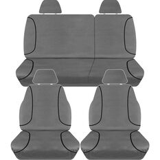 TRADIES CANVAS SEAT COVER TO SUIT: NISSAN NAVARA D40 ST DUAL CAB UTE 4/12 - 4/15
