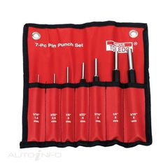 TOLEDO HEAVY DUTY PIN PUNCH SET - 7 PC, , scaau_hi-res