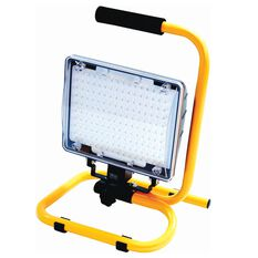 WORK LAMP 160 LED, RE-CHARGABLE WITH MAINS AND 12V CHARGER, , scaau_hi-res