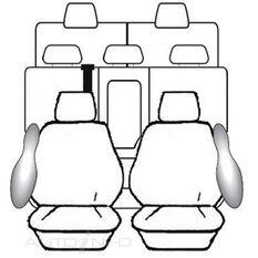 TOYOTA PRADO 150 SERIES WAGON - GX / GXL / VX / KAKADU (11/2009 - ON) DEPLOY SAFE (CHARCOAL)