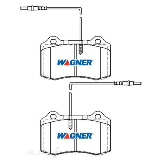 Wagner Brake pad [ Alfa/Dodge & Fiat 1991-2008 F ], , scaau_hi-res