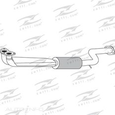 HYUNDAI EXCEL X2 1.5 ENGINE PIPE, , scaau_hi-res