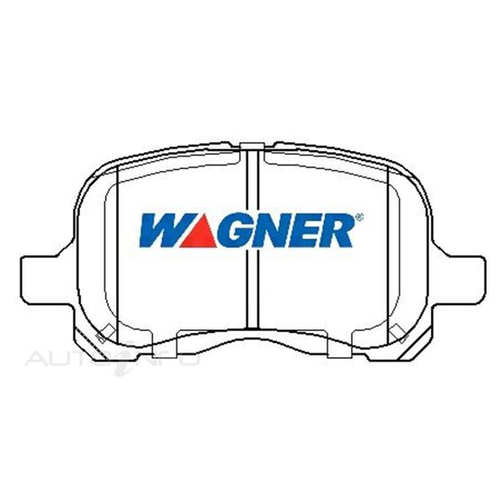 Wagner Brake pad [ Toyota 1997-2001 F ], , scaau_hi-res