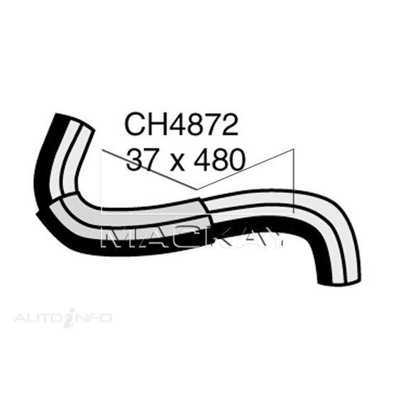 Radiator Upper Hose  - SUBARU IMPREZA GG - 2.0L F4  PETROL - Manual & Auto, , scaau_hi-res
