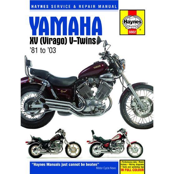YAMAHA XV VIRAGO 1981 - 2003, , scaau_hi-res